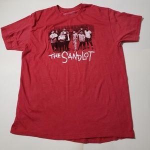 Sandlot Movie XL Mens TShirt Red